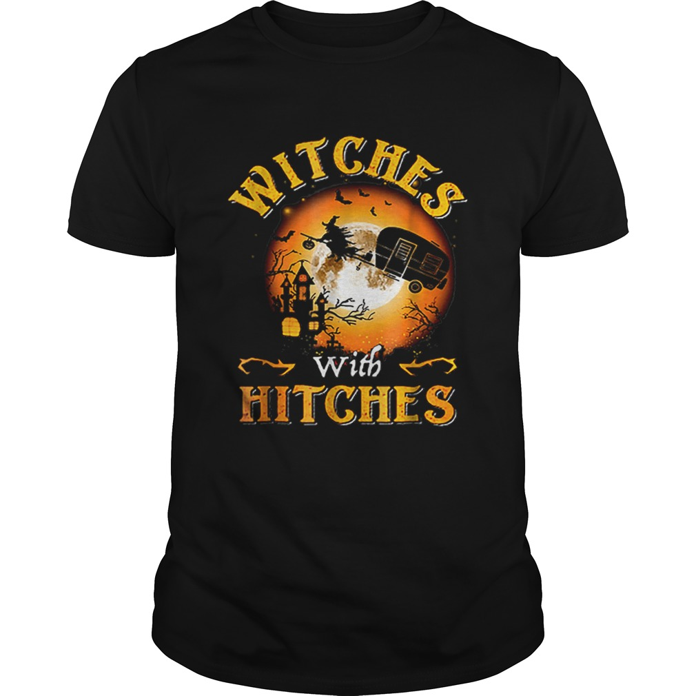 Witches With Hitches Halloween Shirt Aaaaa