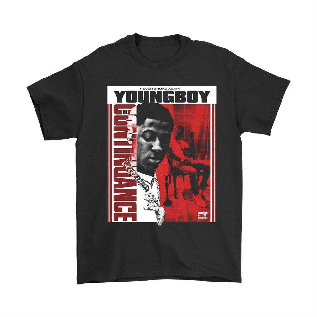 Youngboy Never Broke Again The Continuance Mens T Shirt